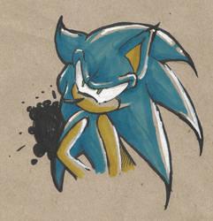 Sonic by Klaracrystalpaws