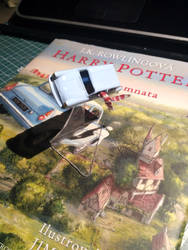 Harry Potter's Ford Anglia by petrsimcik