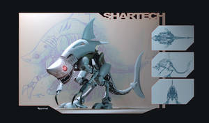 Robo shark by heckthor