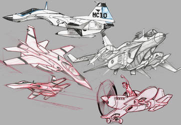 concept jets by heckthor
