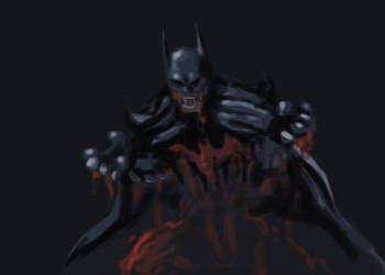 Batman quickie by skyloreang
