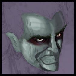 Joker WIP by skyloreang