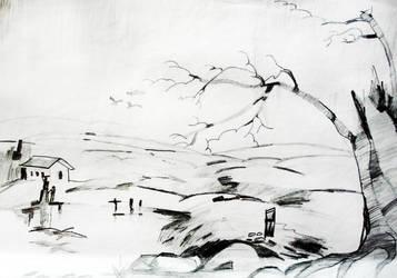 Landscape by soumyakamath