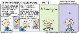 It's Big Brother Charlie Brown by Thinston
