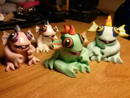 Murloc Family! by Euphyley