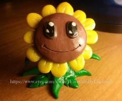 Plants vs Zombies / WoW Singing Sunflower Pet by Euphyley