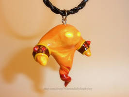 World of Warcraft - Shaman Fire Elemental Necklace by Euphyley