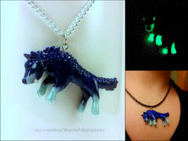 World of Warcraft Inspired Skoll Necklace by Euphyley