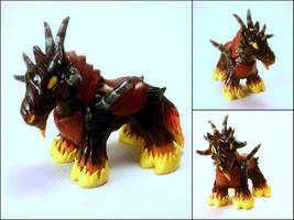 World of Warcraft Inspired Dreadsteed by Euphyley