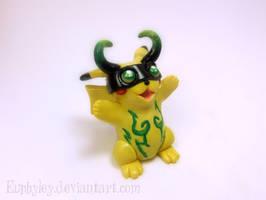 Demon Hunter Pikachu by Euphyley