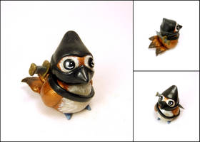 Ninja Pepe Sculpture - World of Warcraft Inspired by Euphyley