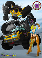 Transformer: Destroyer by GunShad