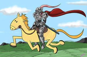 I cant draw horses by GunShad