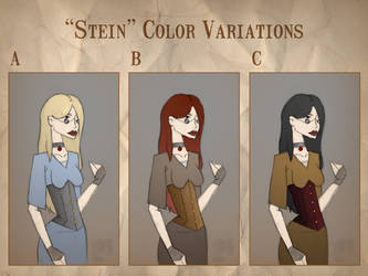 'Stein' color varient sheet by BorderTownDirector
