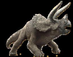 Jurassic World: Triceratops by sonichedgehog2