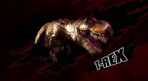 Jurassic Park 2015: T-Rex by sonichedgehog2