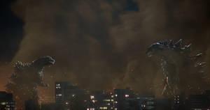 Godzilla: One Shall Stand....One Shall Fall... by sonichedgehog2