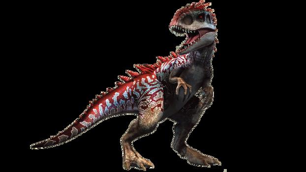 Jurassic World The Game: Hybrid Indominus Rex by sonichedgehog2