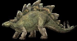 Jurassic World Fallen Kingdom: Stegosaurus V4 by sonichedgehog2