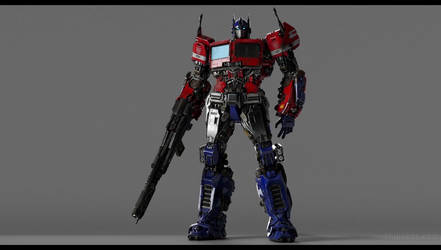 Bumblebee 2018: Optimus Prime by sonichedgehog2