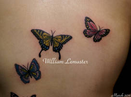 Middle- Back- Butterflies- Wil by SmilinPirateTattoo