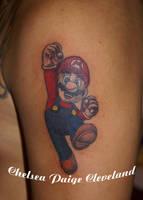 Mario - Arm by SmilinPirateTattoo