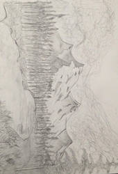 Drawing Mountains by Altherius