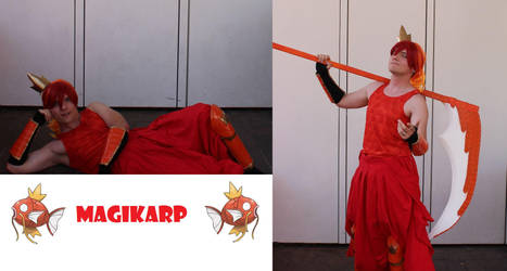 Karp, Karp, MAGIKARP! - Gijinka Cosplay by Strife-Alone