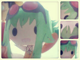 Gumi - Papercraft by Aninsey