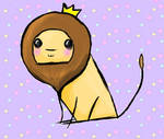 Definitely Not Stolen Lion by Aninsey