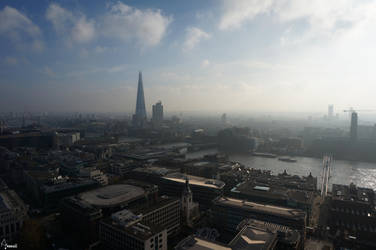 City Scape - London by Aninsey