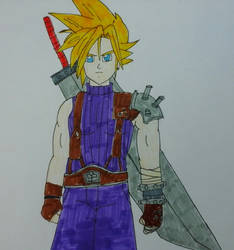 Cloud - The Hero of SOLDIER by JQroxks21