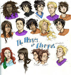 the Heroes of Olympus by Burdge-bug by PrillaLightfoot