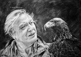 David Attenborough by ScenicSarah
