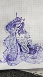 Luna Doodle by MinElvi