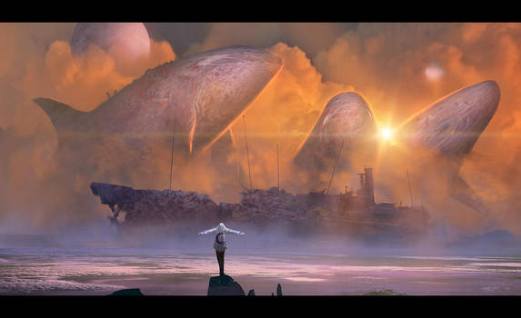 Suicidal Scream of the Whales by ArtistMEF