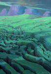 Organic Landscape 6 by ArtistMEF