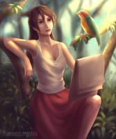 Jane Porter by Wickellia