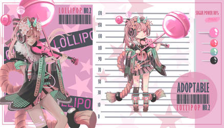 [Closed]LOLLIPOP PINK NO.2 by DEZTINIE