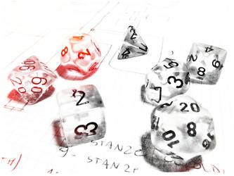 dice on dungeon by CehZ