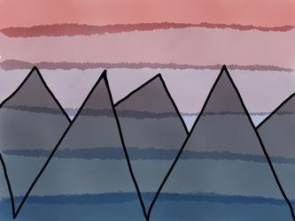 Mountain Doodle by BookNerd04