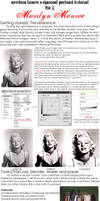 Charcoal tutorial: Marilyn by AnndreaLeeann