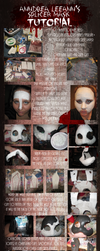 EASY cheap Bioshock Splicer mask tutorial by AnndreaLeeann