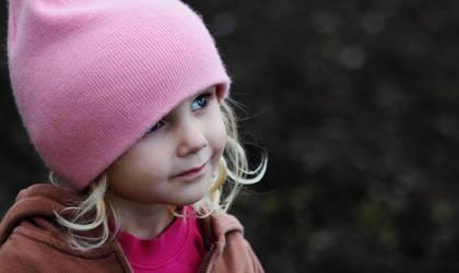 Blonde Hair Blue Eyed by Spottedstar13