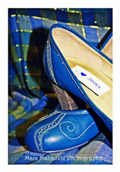 7. Blue suede shoes by retrohippiesummer