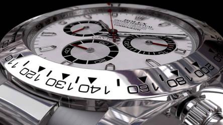 Rolex Daytona 10th Render by tiagogmc