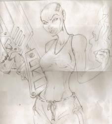 I am Jack's drawing by Saaziel