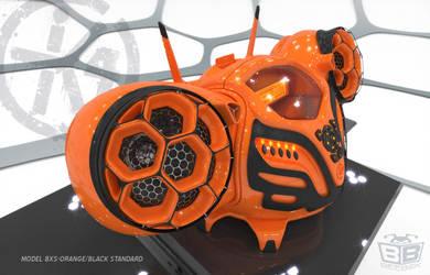 K4icy Beebox Orange (Quarter) by MikeK4ICY