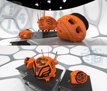 K4icy Beebox Orange (Detatched) by MikeK4ICY