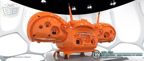 K4icy Beebox Orange (Back) by MikeK4ICY